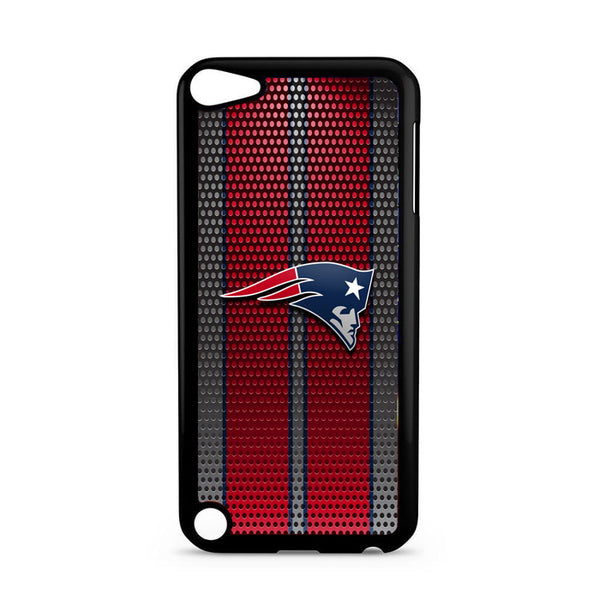 New England Patriots Carbon Fiber Logo iPod 5 Case