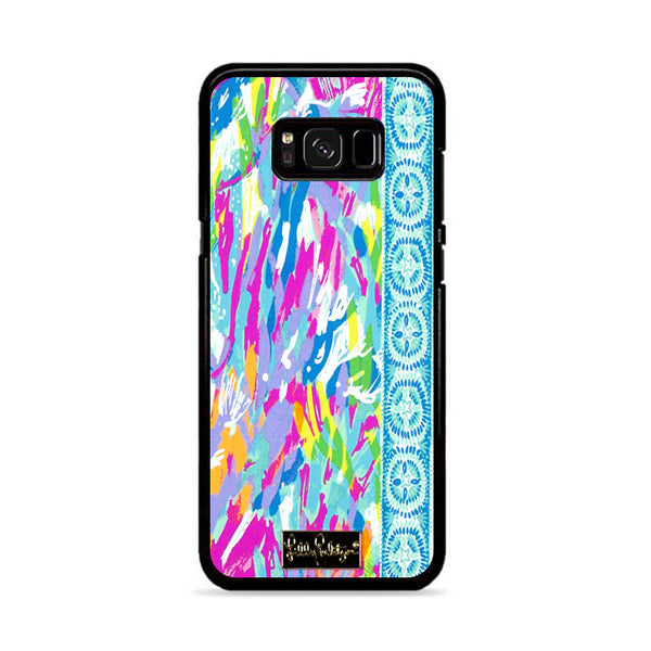 Lilly Pulitzer Sparking Sands Samsung Galaxy S8 Plus Case
