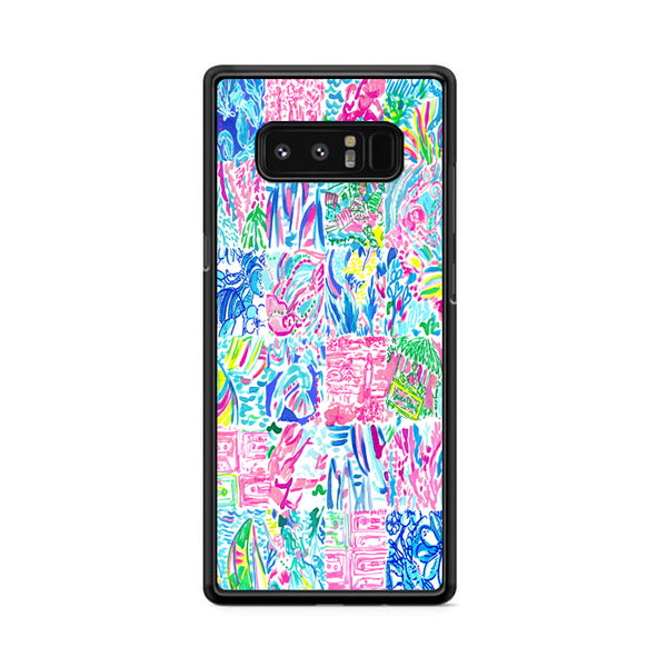 Lilly Pulitzer All Summer Remix Samsung Galaxy Note 8 Case