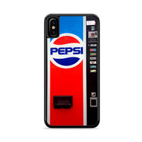 Pepsi Soft Drink Vending Machine iPhone X Case | Miloscase
