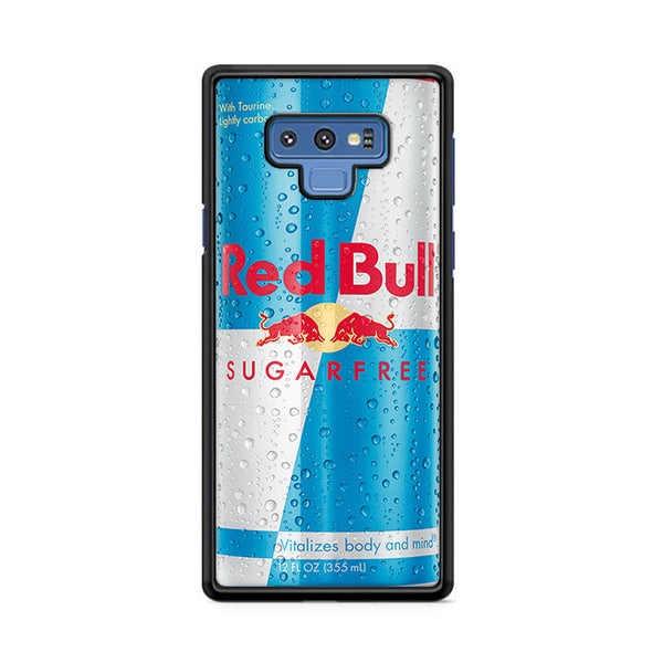 Red Bull Sugar Free Energy Drink Ice Cans Samsung Galaxy Note 9 Case | Miloscase