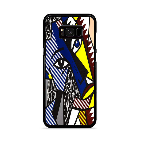 Abstract Painting Color Head By Roy Lichtenstein Samsung Galaxy S8 Case