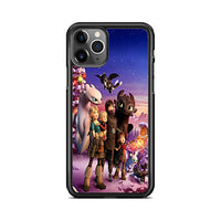 How To Train Your Dragon Homecoming Hiccup Astrid Toothless iPhone 11 Pro Max Case | Miloscase