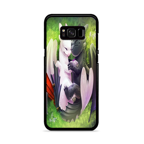 Night Fury And Light Fury Lovely Hugging Samsung Galaxy S8 Plus Case