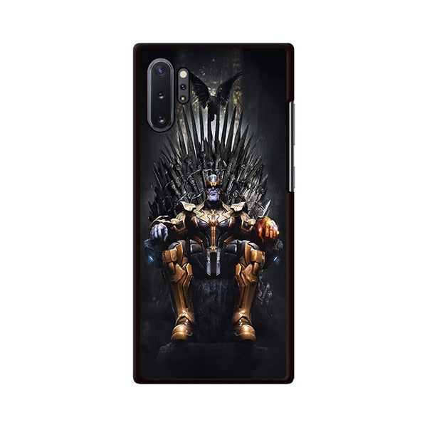 Thanos On The Iron Thrones Samsung Galaxy Note 10 Plus Case | Miloscase