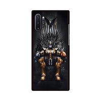 Thanos On The Iron Thrones Samsung Galaxy Note 10 Case | Miloscase