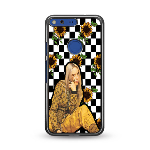 Billie Eilish Checker Board Sunflower Google Pixel XL Case