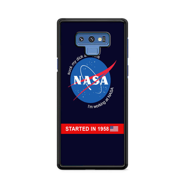 Outer Space And Satellite Working At Nasa Samsung Galaxy Note 9 Case