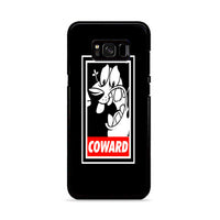 Dog Cowardly Black Samsung Galaxy S8 Case