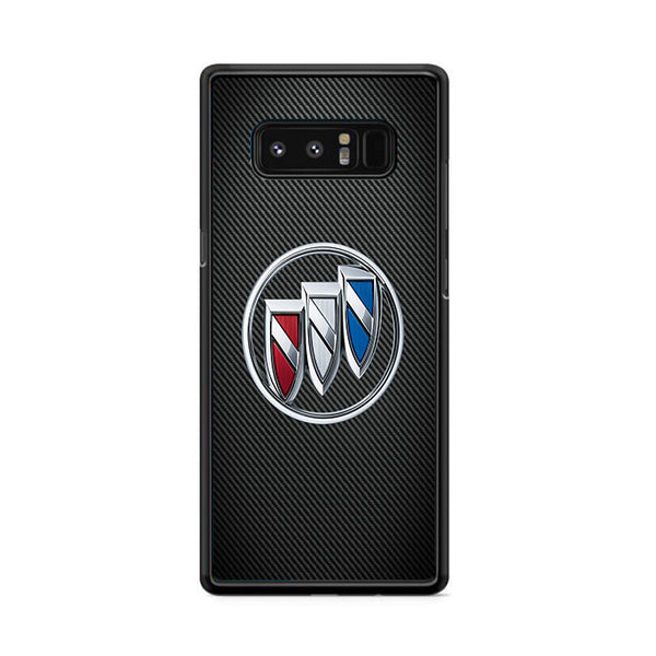 Buick Byuik Carbon Fiber Logo Samsung Galaxy Note 8 Case