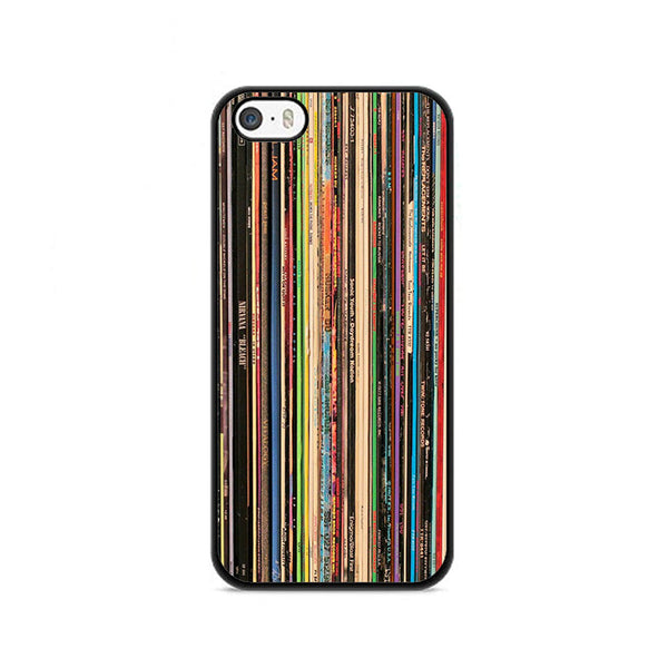 Classic Alternative Rock Records Collection iPhone 5|5S|SE Case