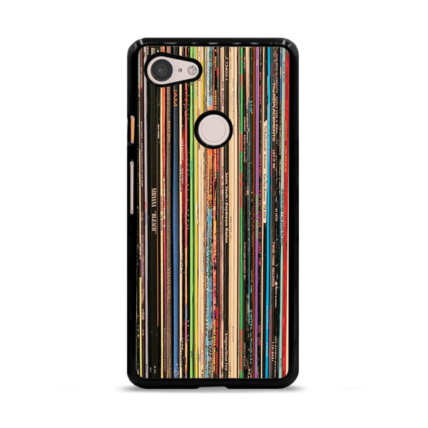 Classic Alternative Rock Records Collection Google Pixel 3 Case