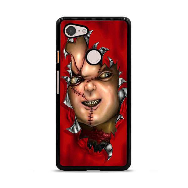 Red Chucky Childs Play Google Pixel 3 Case