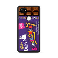 Cadbury Spectacular 7 Chocolate Bar Google Pixel 2 Case
