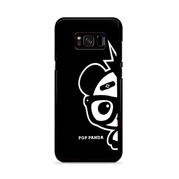Black Panda Boy Samsung Galaxy S8 Case