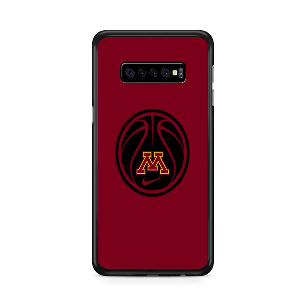 Minnesota Gophers Basketball Logo Samsung Galaxy S10e Case