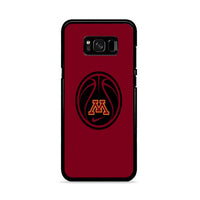 Minnesota Gophers Basketball Logo Samsung Galaxy S8 Case