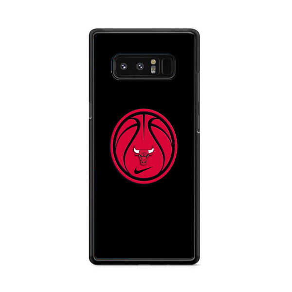 Chicago Bulls Basketball Black Samsung Galaxy Note 8 Case