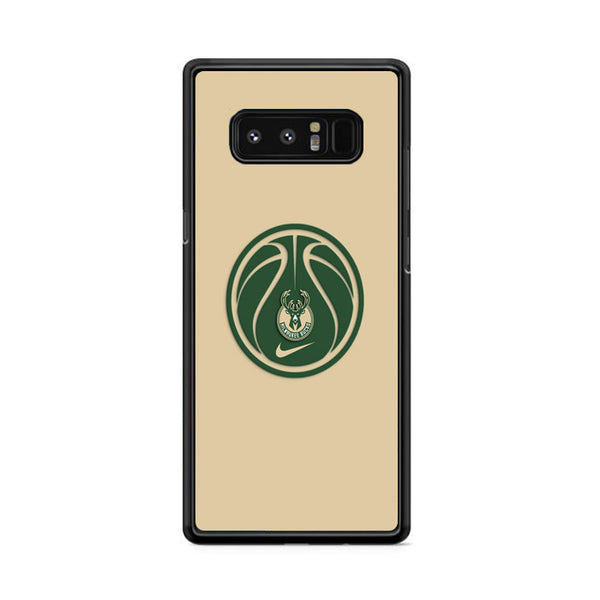 Milwaukee Bucks Basketball Logo Samsung Galaxy Note 8 Case