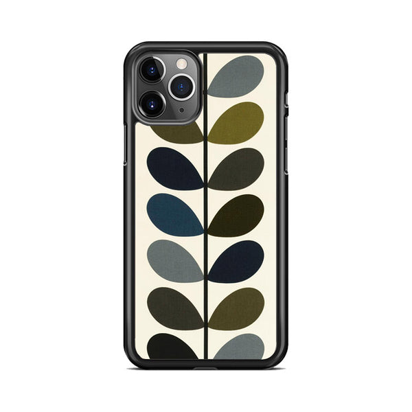 Orla Kiely Multi Stem Fabric Moss iPhone 11 Pro Case
