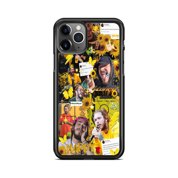 Post Malone Austin Post Photo Collages iPhone 11 Pro Max Case