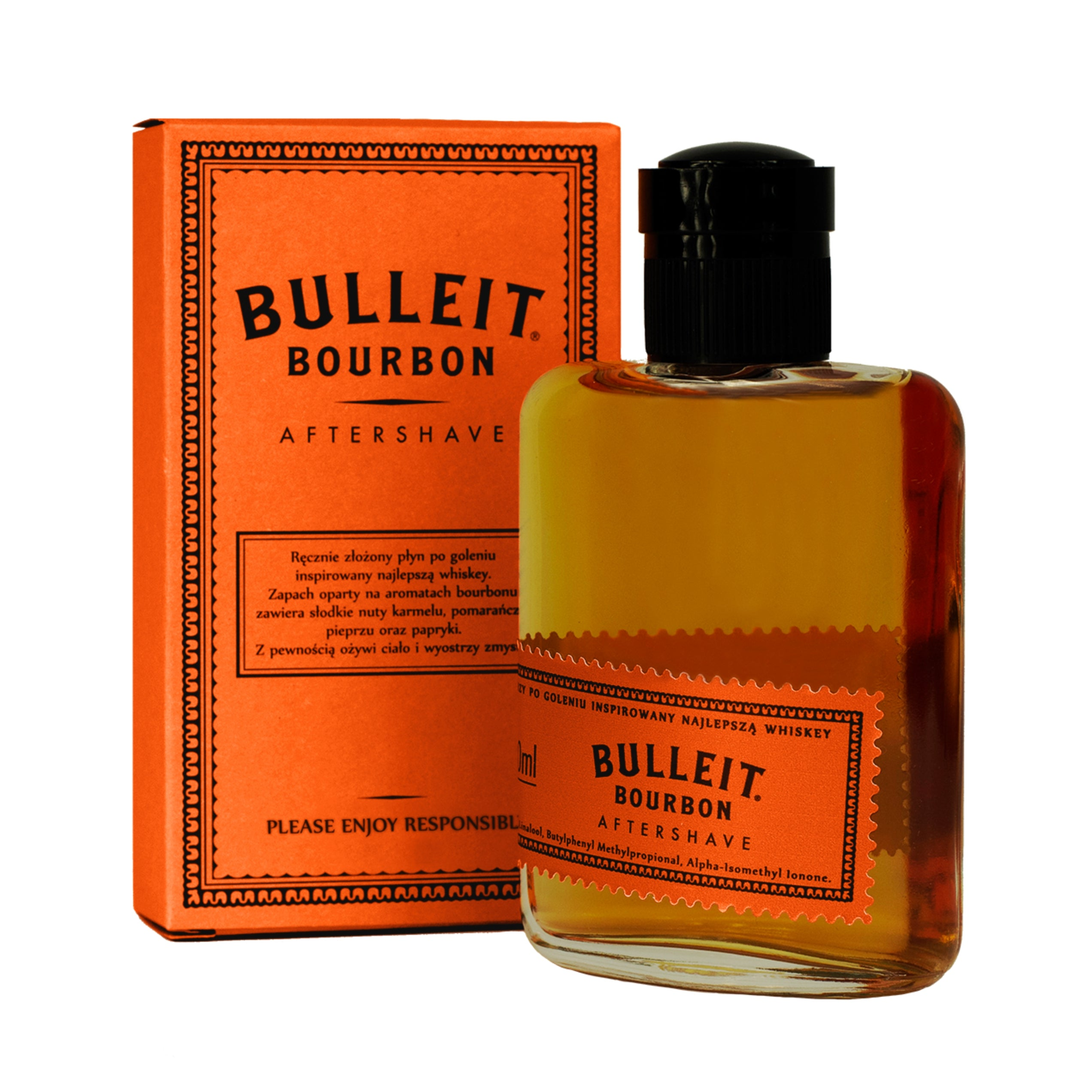 Aftershave Pan Drwal X BULLEIT