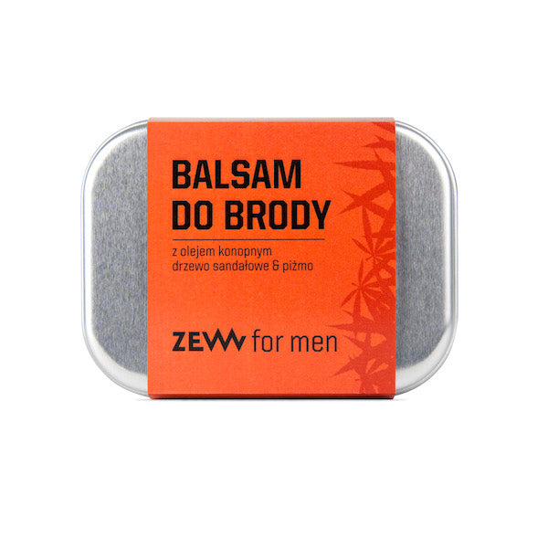Balsam do brody z olejem konopnym - Zew for men