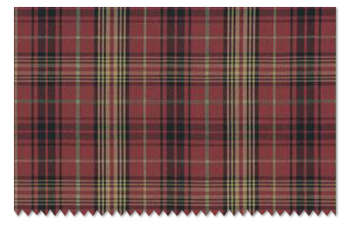 Mission Avenue Studio Fabric Upholstery Swatch: Ralph Lauren Home Kensington Tartan Burgundy