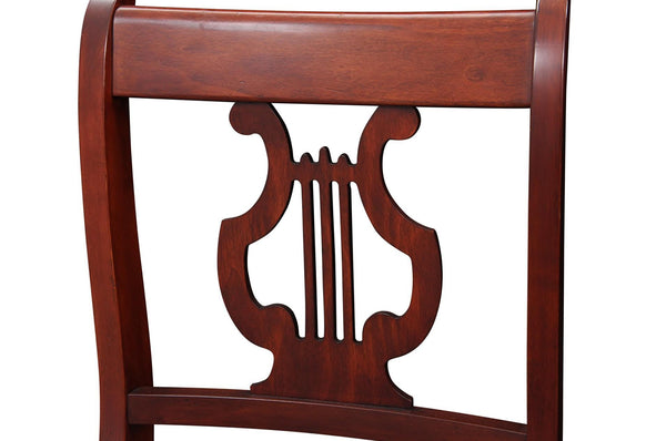 1940s Vintage Duncan Phyfe Style Lyre Dining Chairs Accent