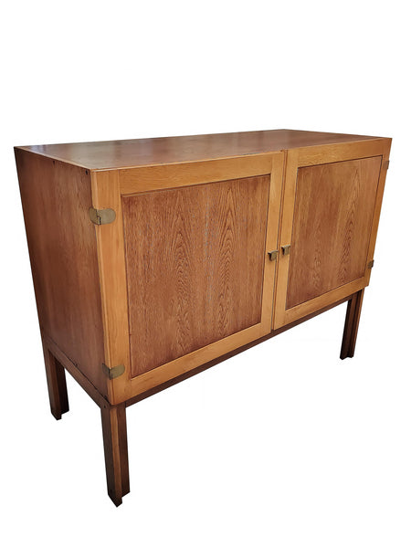 1960s Danish Mid-Century Modern Cabinet by H. G. Furniture Hero