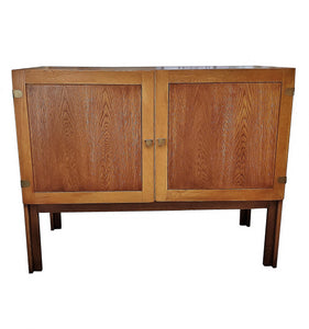 1960s Danish Mid-Century Modern Cabinet by H. G. Furniture