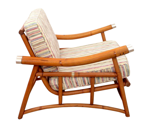 1970s Mid-Century Modern Ficks Reed Chair