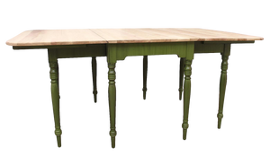 MAS Rustic Drop-Leaf Dining Table 1