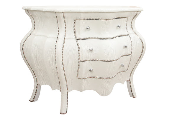 Faux Croc-skin Bombay Chest
