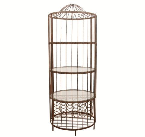 Birdcage Wine Rack