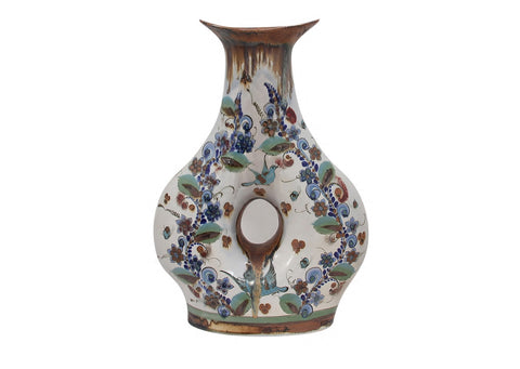 Ceramic Hand-Made Hole Vase