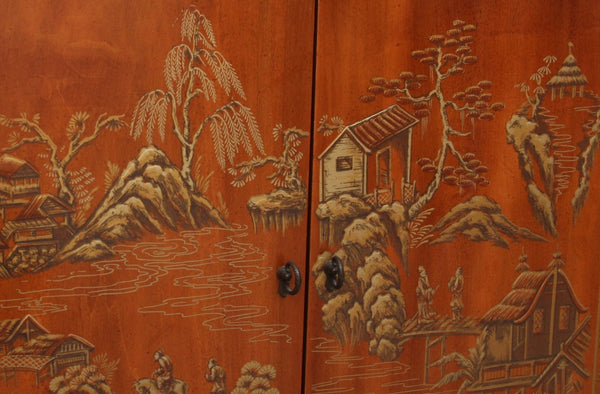 Drexel Heritage Chinoiserie Display Cabinet