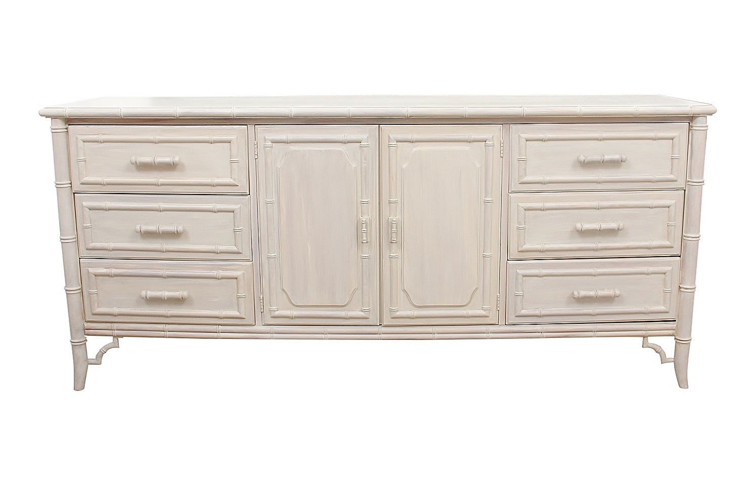Dixie Faux Bamboo Credenza 1
