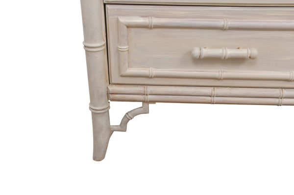 Dixie Faux Bamboo Credenza 4