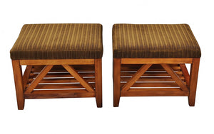 Solid Wood Stools 1