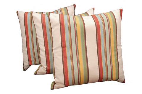 Contemporary Striped Pillows 1