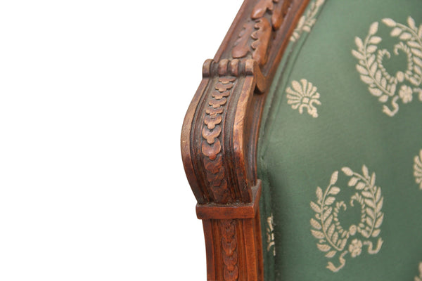 Silk French Marquis Chair