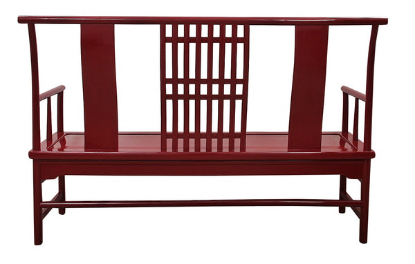 "Maria Yee Bench in ""Classic Burgundy"""