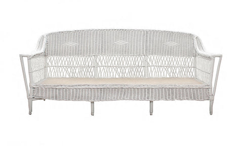 1960's Wicker Sofa