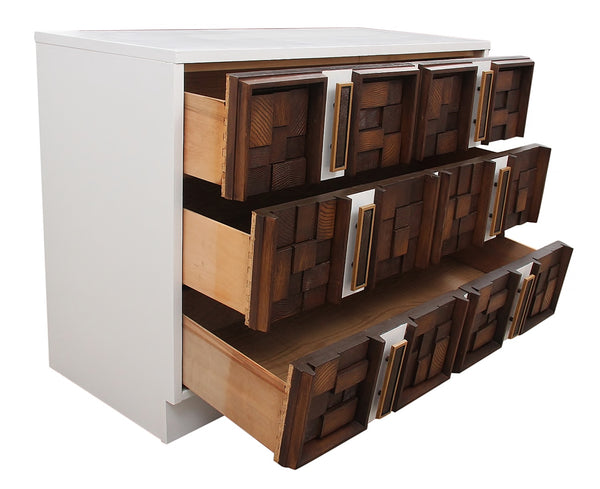 1960s Brutalist Chest of Drawers