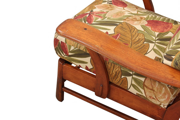 Cushman Style Paddle Arm Chair
