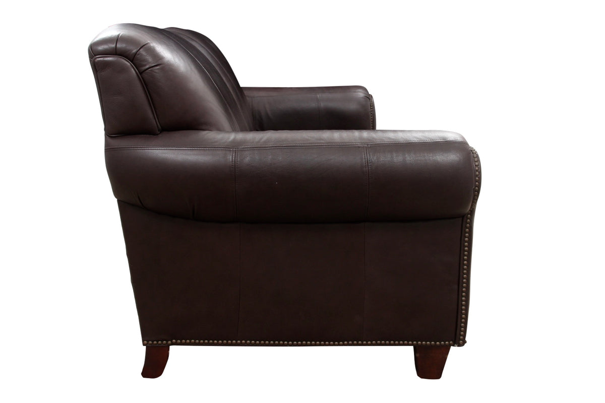 Pleasing Modern Broyhill Contemporary Leather Sofa Onthecornerstone Fun Painted Chair Ideas Images Onthecornerstoneorg