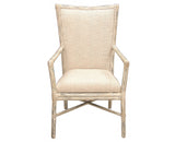 "McGuire ""Cambria"" Fautieuil Chairs - A Pair"