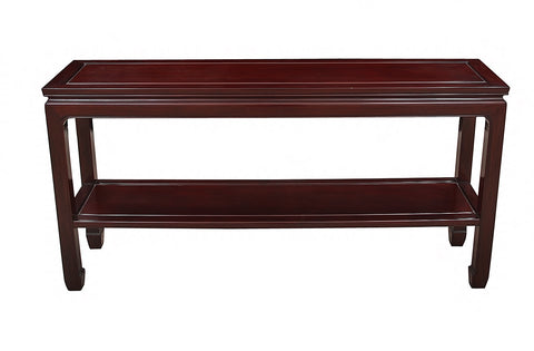 Solid Rosewood Console Table