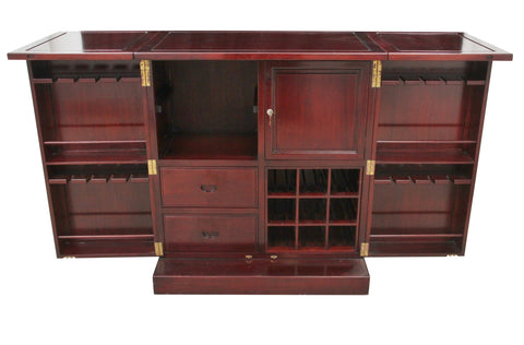 Expandable Rosewood Bar